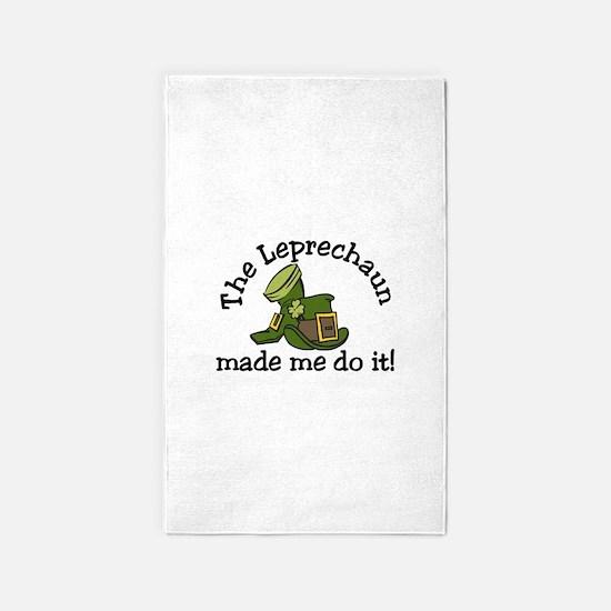 Leprechaun Made Me 3'x5' Area Rug