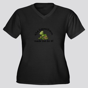 Leprechaun Made Me Plus Size T-Shirt