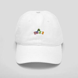 American Irish Flag Baseball Cap