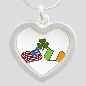 American Irish Flag Necklaces