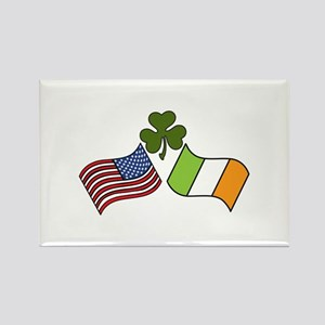 American Irish Flag Magnets