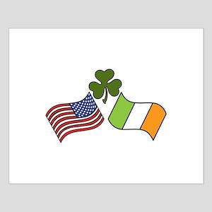 American Irish Flag Posters