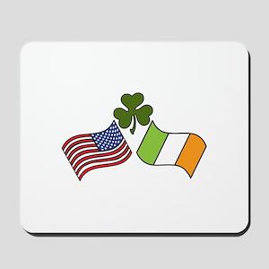 American Irish Flag Mousepad