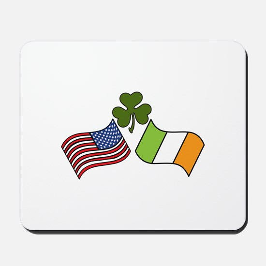 American Irish Flag Mousepad