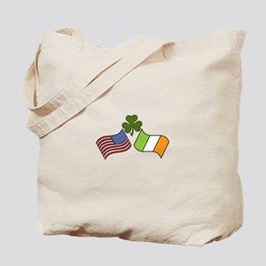 American Irish Flag Tote Bag