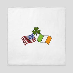 American Irish Flag Queen Duvet