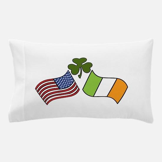 American Irish Flag Pillow Case