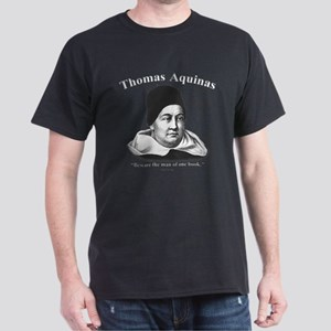 Thomas Aquinas 01 Dark T-Shirt