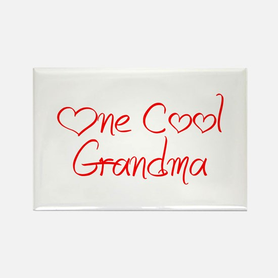 one-cool-grandma-jel-red Magnets