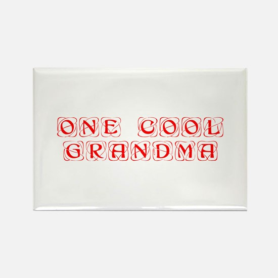 one-cool-grandma-KON-RED Magnets