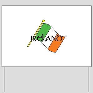 Flag Of Ireland Yard Sign