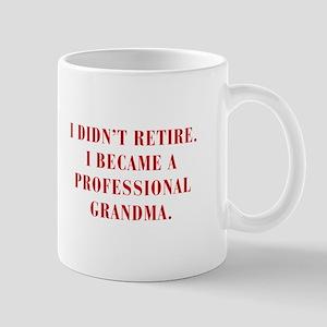 professional-grandma-bod-red Mugs