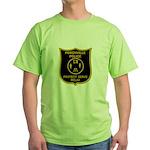 Porchville Police Green T-Shirt