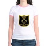 Porchville Police Jr. Ringer T-Shirt