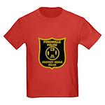 Porchville Police Kids Dark T-Shirt
