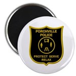 Porchville Police Magnet