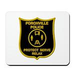 Porchville Police Mousepad