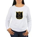 Porchville Police Women's Long Sleeve T-Shirt