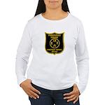 Porchville Police Women's Long Sleeve T-Shirt