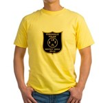Porchville Police Yellow T-Shirt