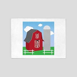 Farm 5'x7'Area Rug