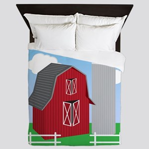 Farm Queen Duvet