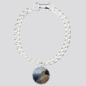 Cliffs of Mon, Denmark Charm Bracelet, One Charm