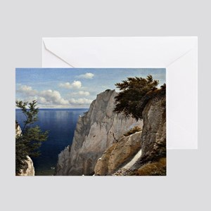 Cliffs of Mon, Denmark Greeting Card