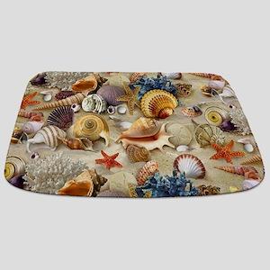 Seashells And Starfish Bathmat