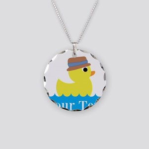 Personalizable Rubber Duck Necklace