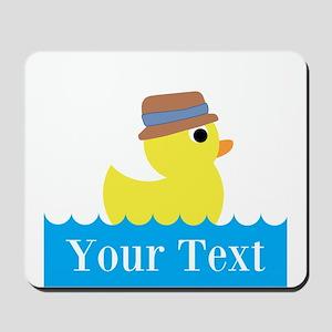 Personalizable Rubber Duck Mousepad