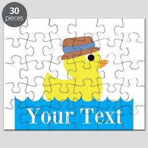 Personalizable Rubber Duck Puzzle