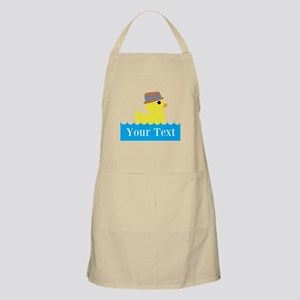 Personalizable Rubber Duck Apron