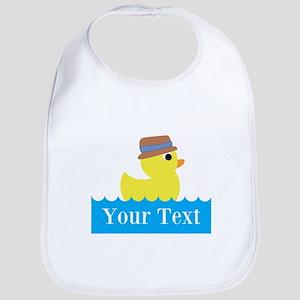 Personalizable Rubber Duck Bib