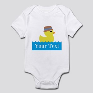 Personalizable Rubber Duck Body Suit
