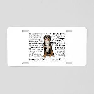 Berner Traits Aluminum License Plate