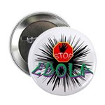 "Stop Ebola 2.25"" Button (10 Pack)"