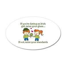 Dating Irish Wall Decal