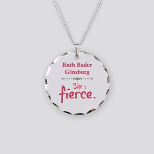 Ruth Bader Ginsburg is fierce Necklace