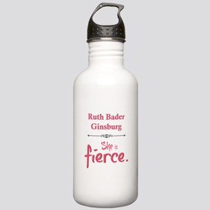 Ruth Bader Ginsburg is fierce Water Bottle