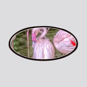 Pink Flamingos Patches