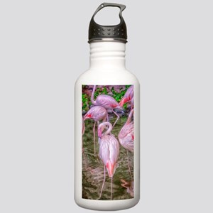 Pink Flamingos Stainless Water Bottle 1.0L