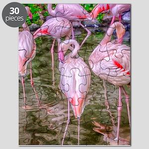 Pink Flamingos Puzzle