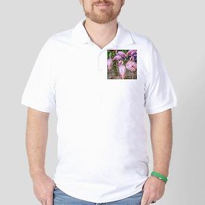 Pink Flamingos Golf Shirt