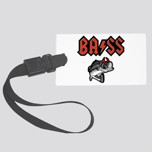 Bass (Horns) Large Luggage Tag