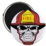 Skull Fireman Magnets