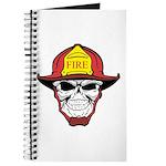 Skull Fireman Journal