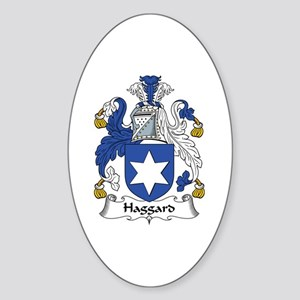 Haggard Oval Sticker