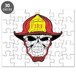 Skull Fireman Puzzle