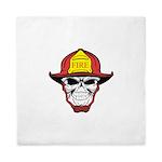 Skull Fireman Queen Duvet